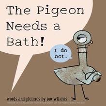 Pigeon Needs a Bath!