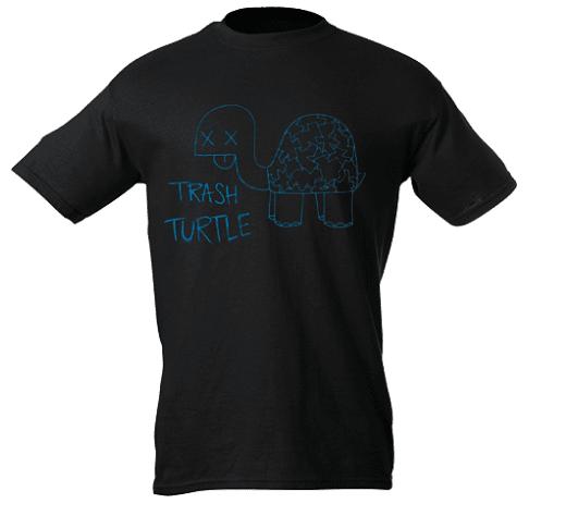 Trash Turtle T-Shirt copy