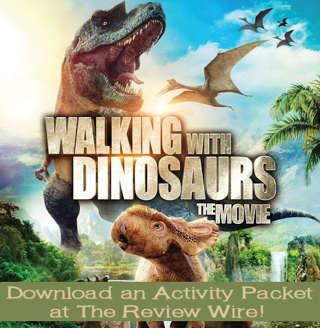 Walking with Dinosaurs The Movie Activity Packet