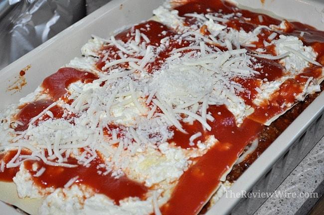 Assembled Lasagna