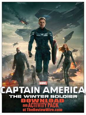 Captain America Avtivity Pages