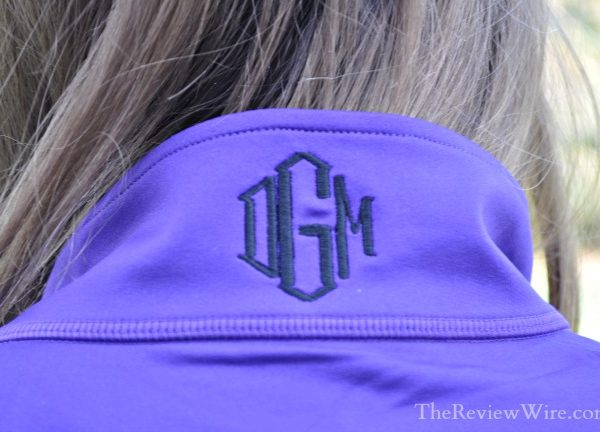 The Pink Monogram Pullover
