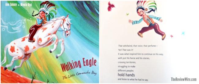 Walking Eagle The Little Comanche Boy