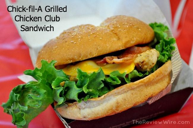 Chick-fil-A Grilled Chicken Club Sandwich