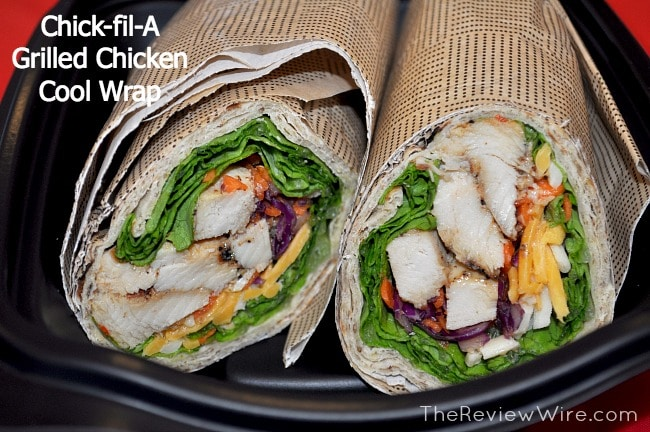 Chick-fil-A Grilled Chicken Cool Wrap