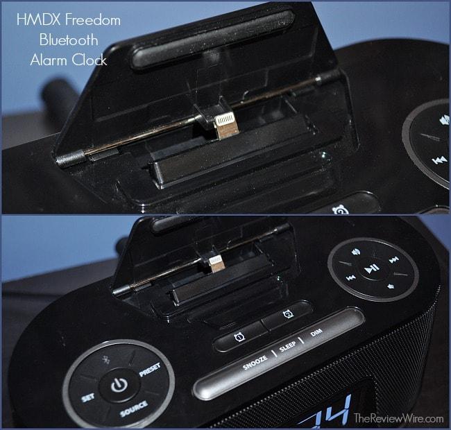HMDX Bluetooth Alarm Clock