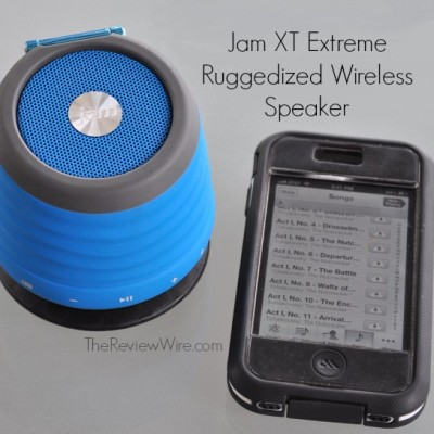 HMDX Audio: Get Sweet Sounds With the Bluetooth Alarm Clock and Jam XT Extreme Bluetooth Speaker