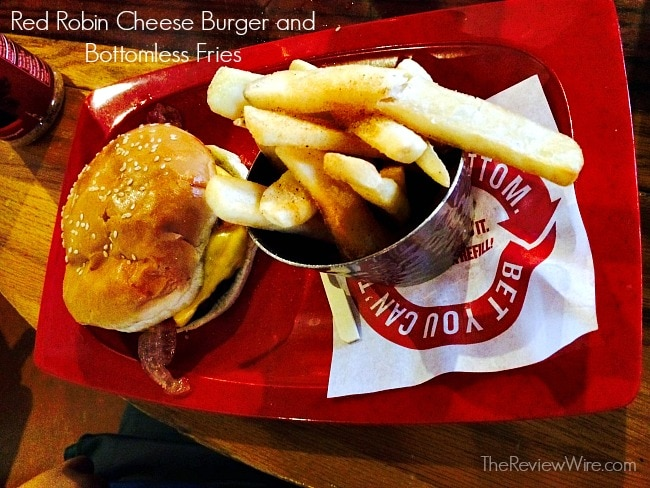 Red Robin Cheese Burger
