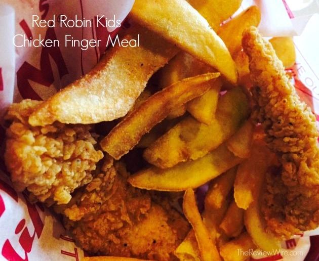 Red Robin Chicken Finger Meal