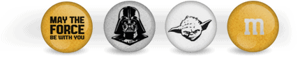 Star Wars M&M
