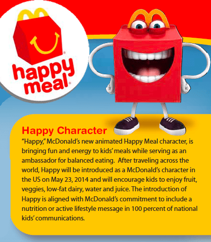 Happy Character