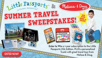 Summer Travel Sweepstakes with Little Passports