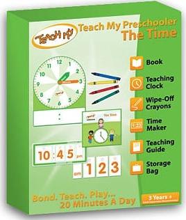 Teach My PreSchooler Time