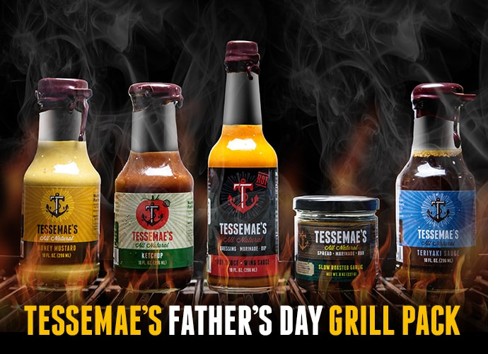 Tessemae's Father's Day Grill Pack