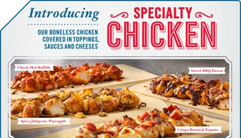 Domino's Speciality Chicken Logo