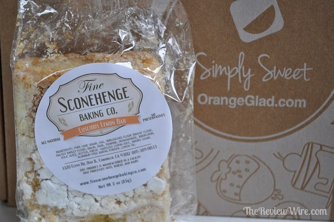 Sconehenge Baking Co Lemon Bar
