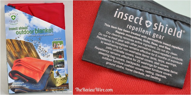 Insect Shield Blanket