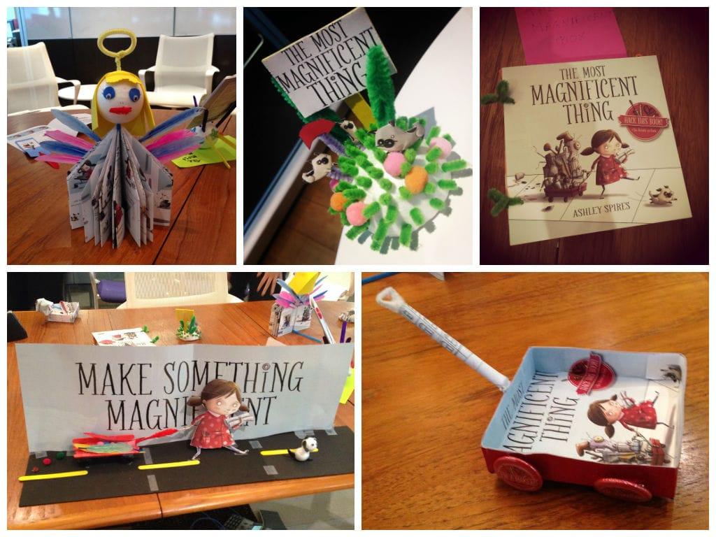 Make Something Book Hack