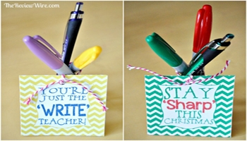 Monthly Teacher Gift Idea using Sharpie