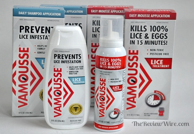 Vamousse Lice Prevention