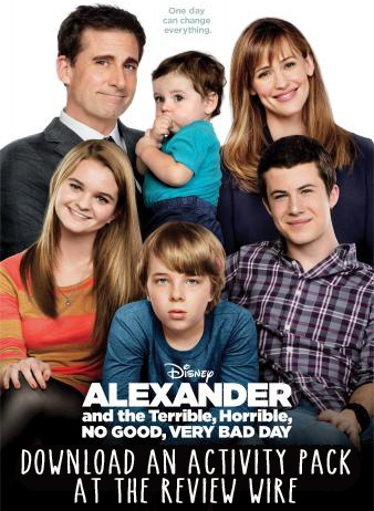 Alexander and the Terrible, Horrible, No Good Very Bad Day Activity Pack