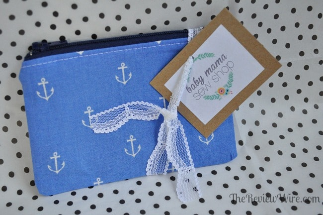 Anchor Coin Purse from MissionCute: Accessories Monthly Subscription Box