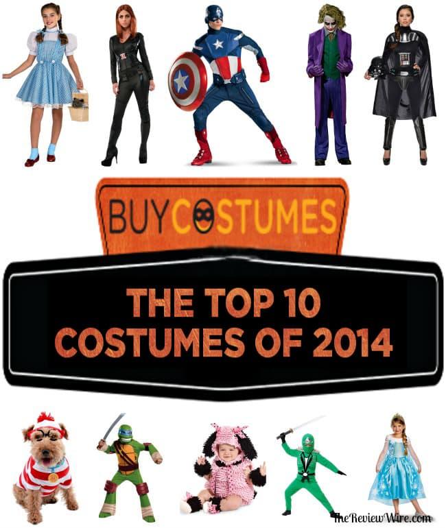 BuyCostumes Top 10 Halloween Costumes