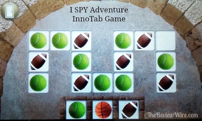 I SPY Adventure InnoTab Game Pattern Quest