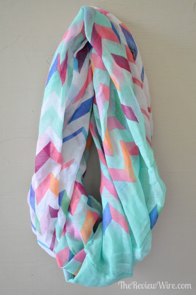 Teal Infinity Scarf from MissionCute: Accessories Monthly Subscription Box