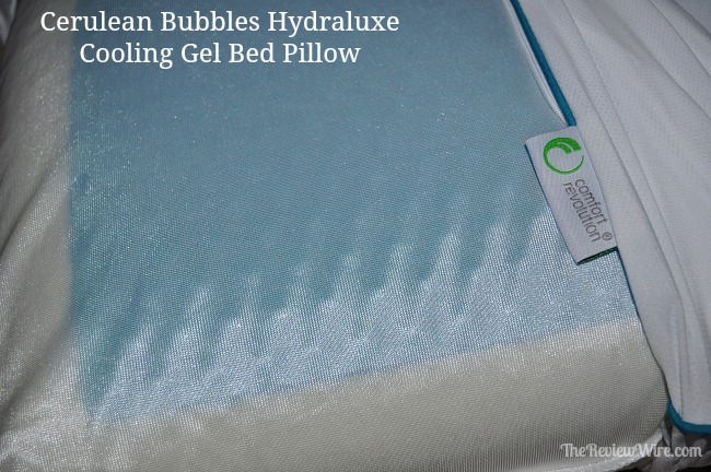 Cerulean Bubbles Hydraluxe Cooling Pillow
