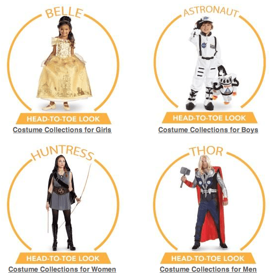 Head-to-Toe Costume Collections