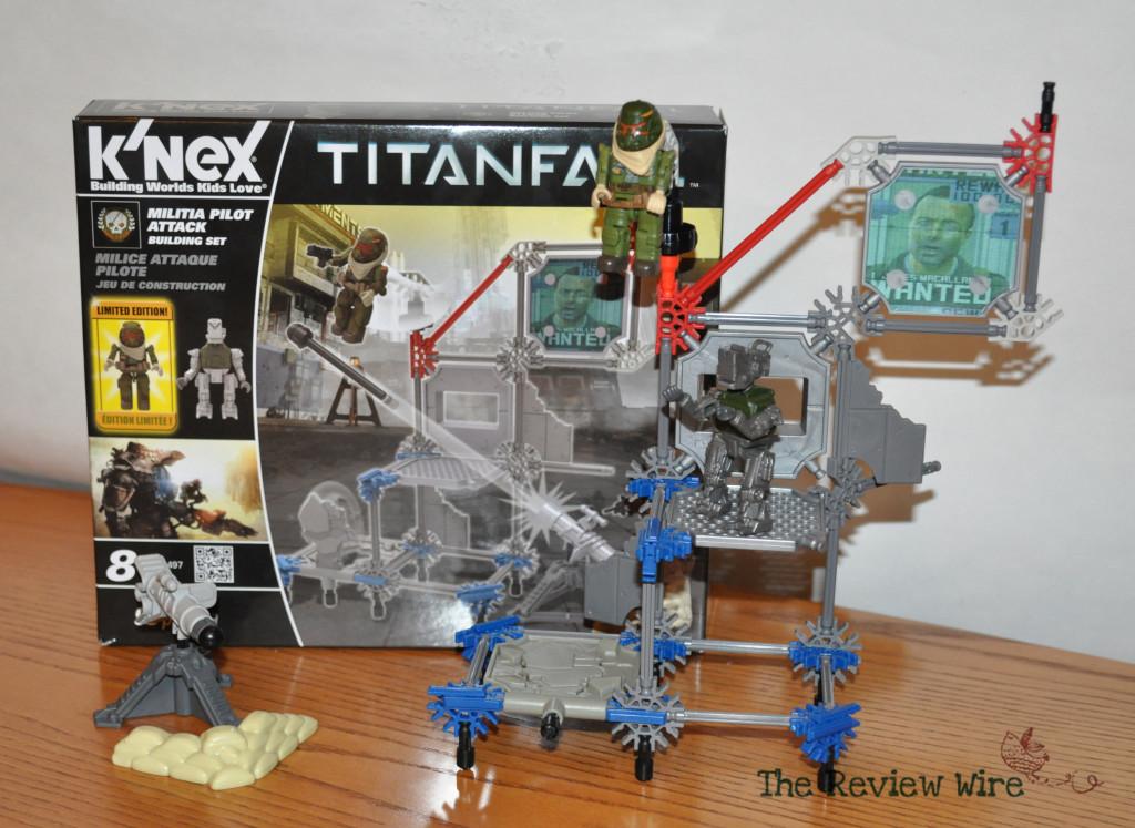 K'nex Militia Pilot Attact