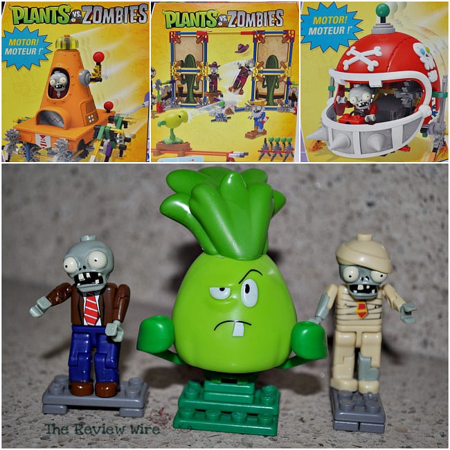 Plants Vs Zombies K'nex
