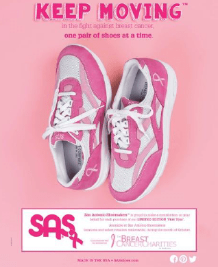SAS Pink Tour Sneaker