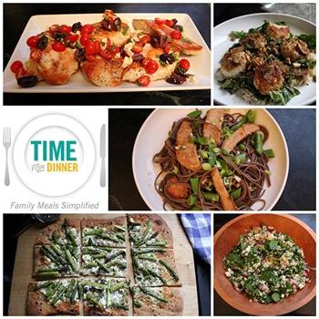 Time for Dinner 5 Meal Plans