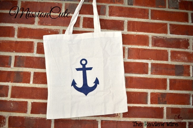 Anchors Aweigh Tote MissionCute Accessories Subscription Box