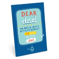 Dear Dad Activity Book