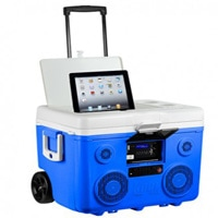 KoolMAX - 40-Quart Cooler, Bluetooth Audio System and Power Station