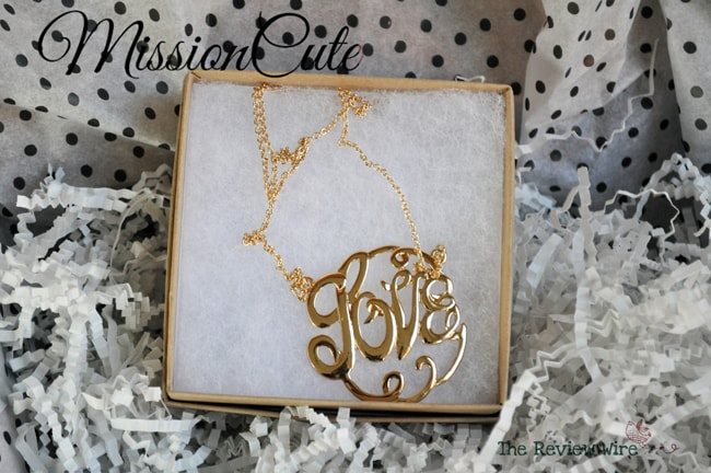 Love Necklace MissionCute Accessories Subscription Box