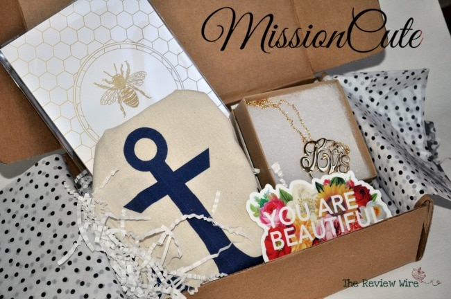 MissionCute Nov Box Accessories Subscription Box