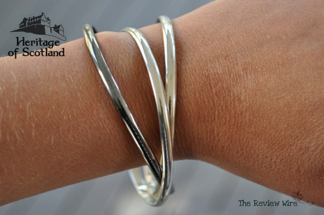 Silver Bangle Heritage of Scotland Traditional Scottish Products