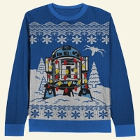 Star Wars Decorated R2D2 Sweater