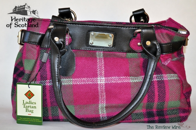 Tartan Bag HeritageOfScotland.com Traditional Scottish Products