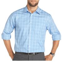 Van Heusen Ultimate Traveler Long-Sleeve Woven Shirt