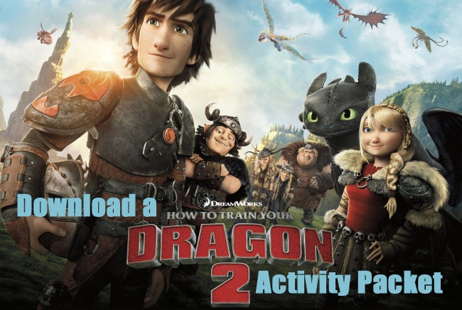How to Train Your Dragon 2 Printable Activities