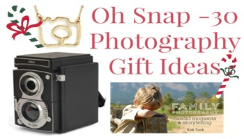 30 Photography Gift Ideas