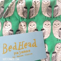 BedHead Barn Owl PJ's