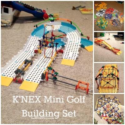 K'NEX Mini Golf Building Set Review
