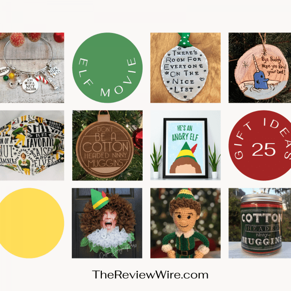 The Review Wire: Unleash Your Inner Elf with these Elf Gift Idea