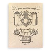 camera-patent-wood-print